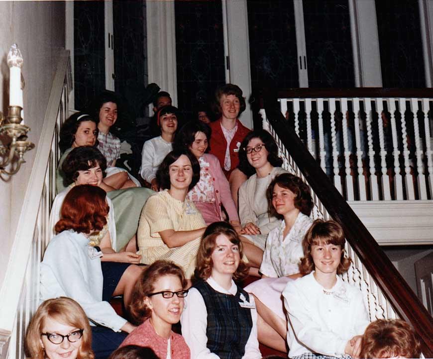Pi Lambda Sigma Women's club at Braeview