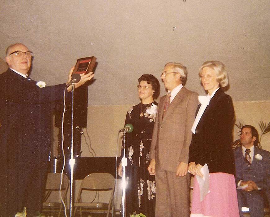 King's first Honorary Alumni Award
