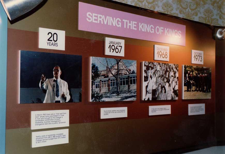 King's historical billboard