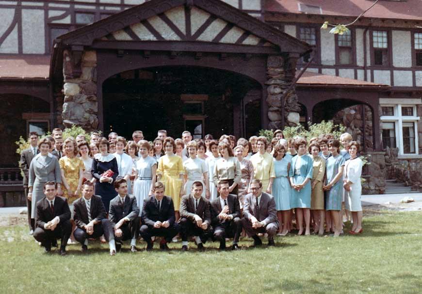 Freshman class of 1963