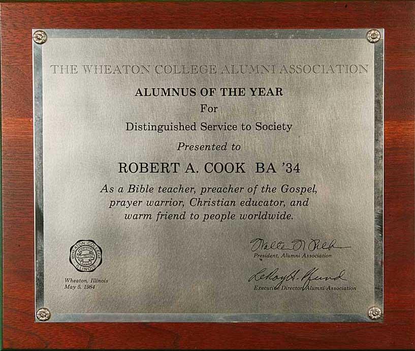 Wheaton College Alumnus