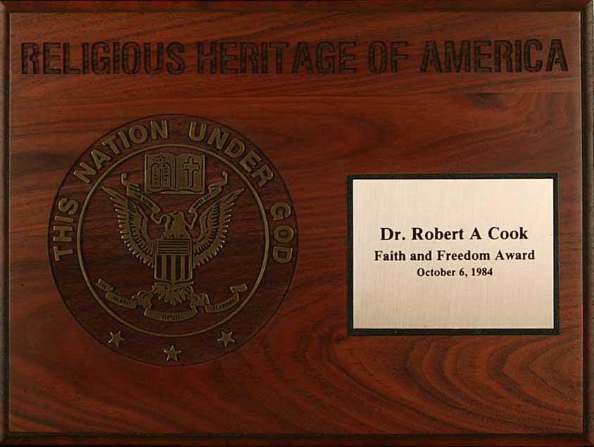 Faith and Freedom Award