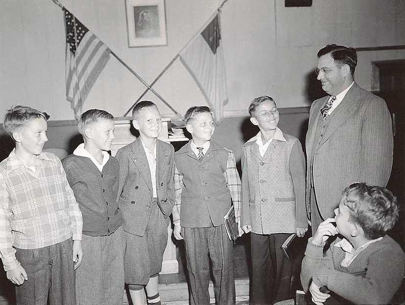 Midwest Boy's Sunday School class