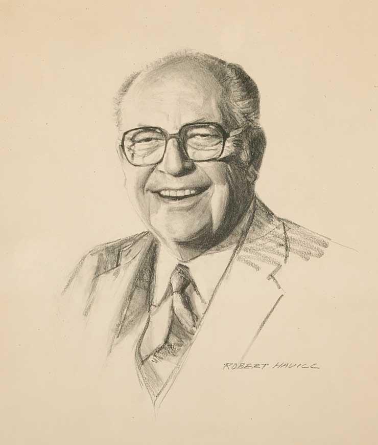 A sketch of Dr. Robert Cook
