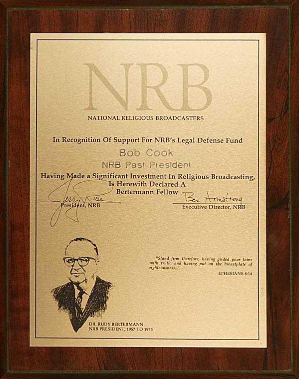 Bertermann Fellow Award