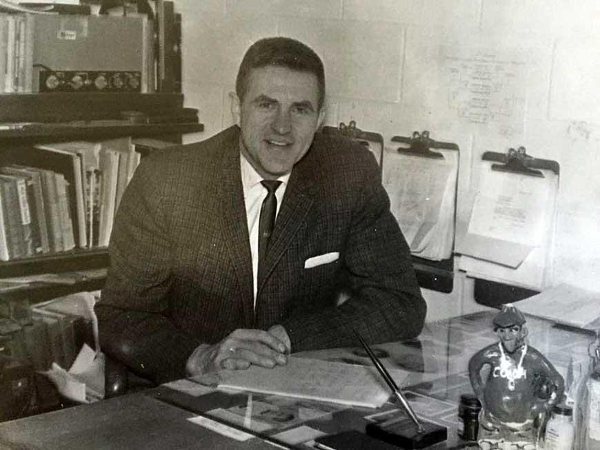 Athletic Director Norman Wilhelmi