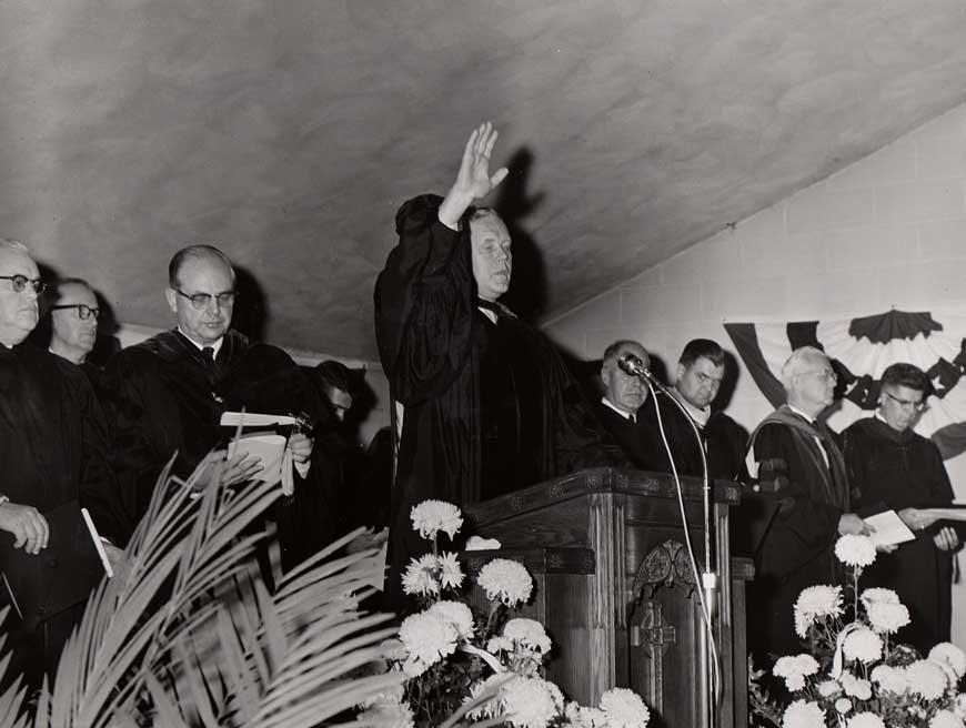 The inauguration benediction