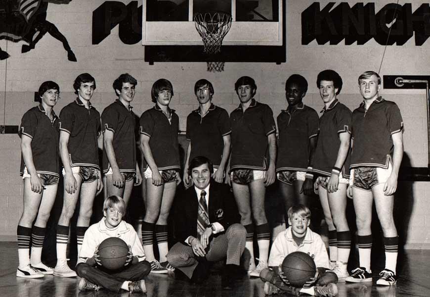 King's basketball team, ca. 1970's
