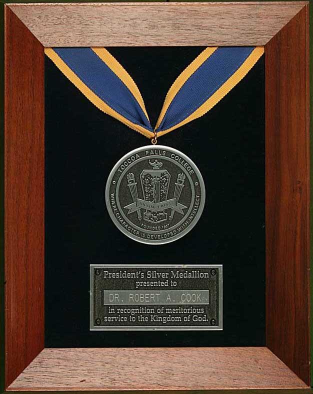 President's Silver Medallion