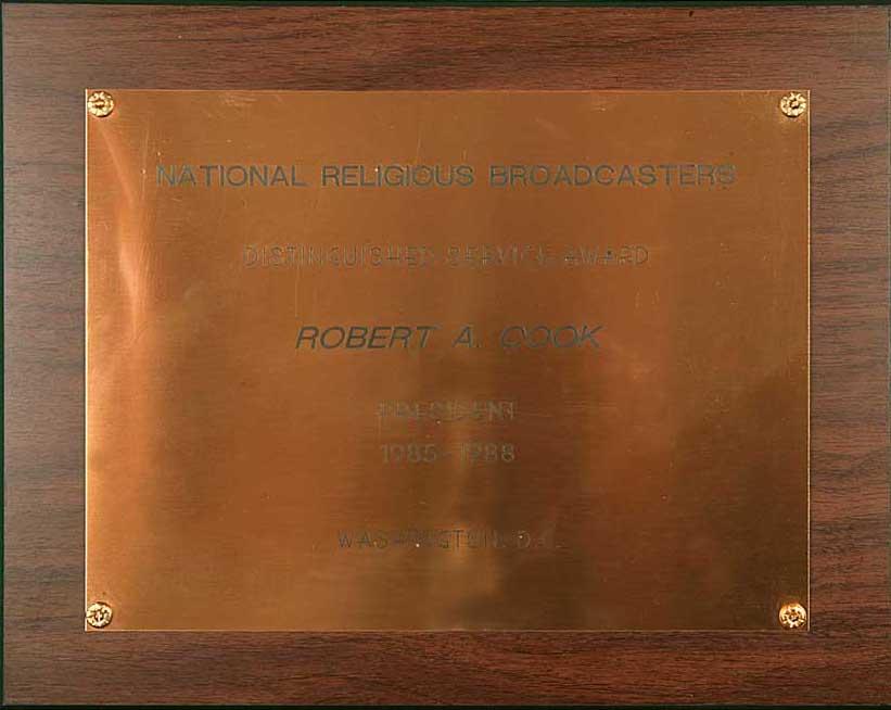 NRB Distinguished Service Award