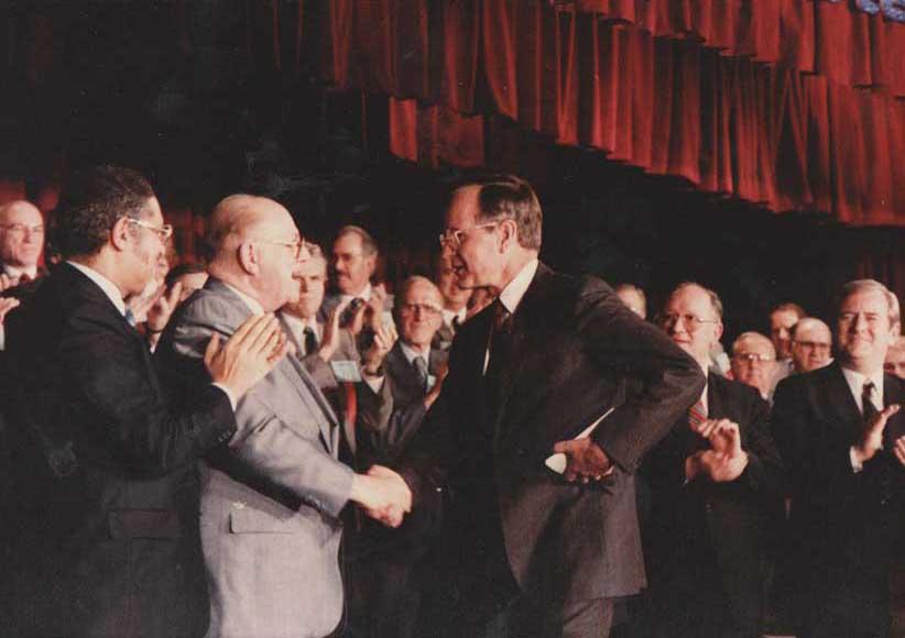 VP George H. W. Bush at NRB Convention