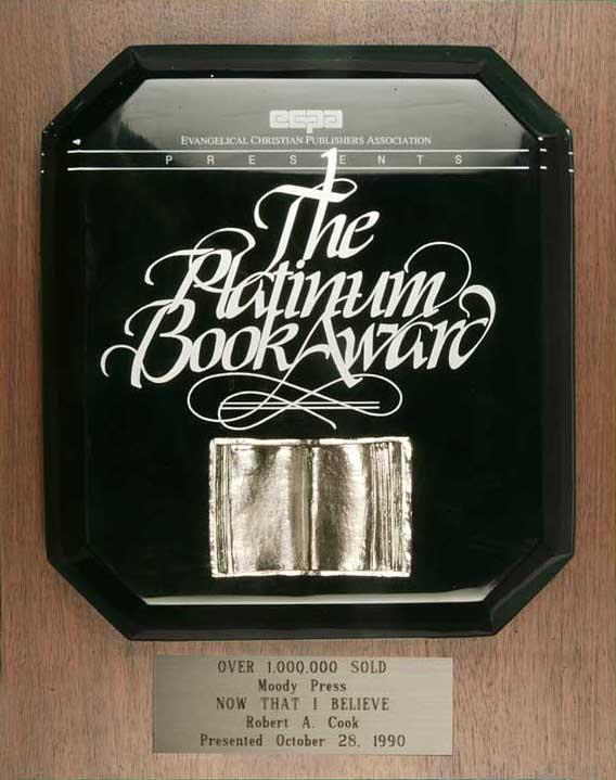 Platinum Book Award