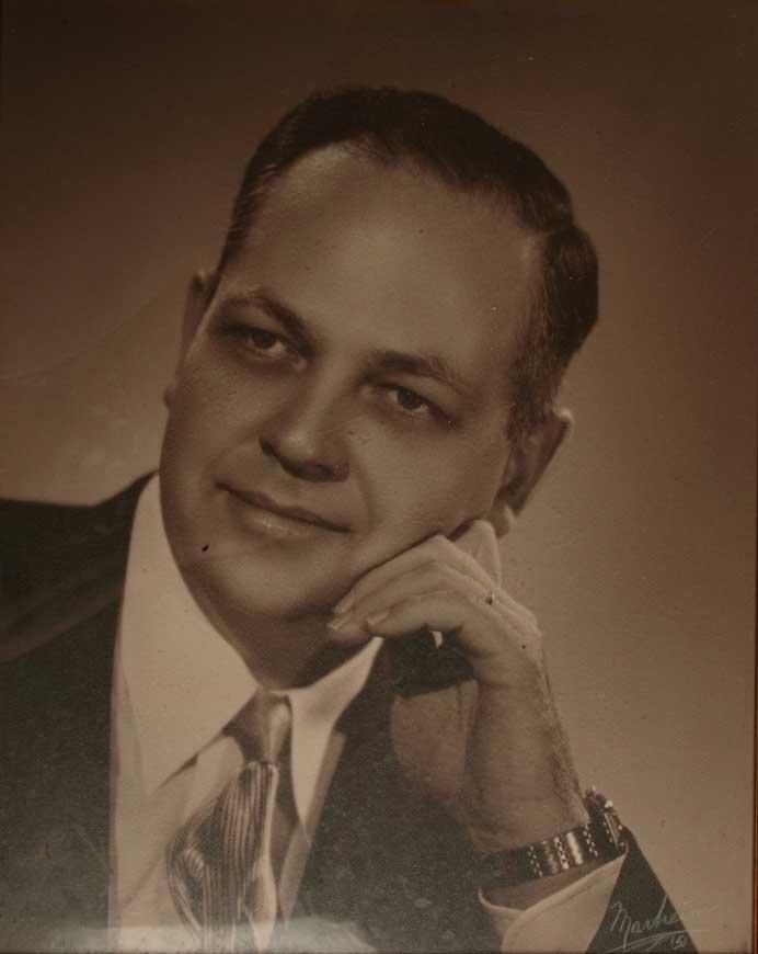 Portrait of Dr. Cook