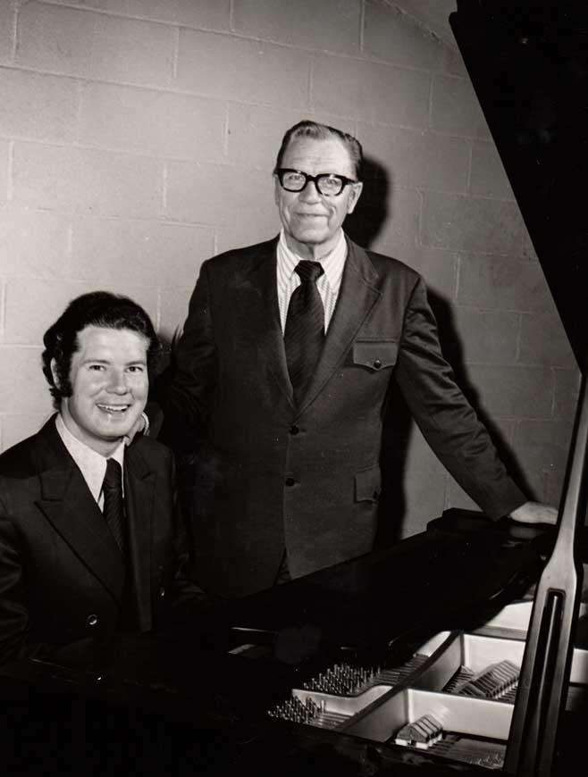 Bev Shea and John Innes